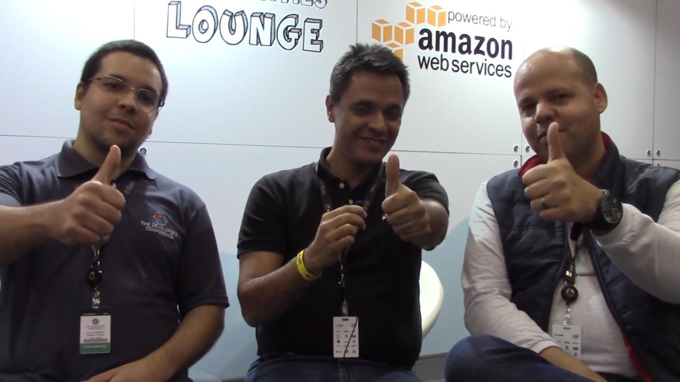 Juliano Cristian e Paulo Roberto falam sobre Amazon Lumberyard e gamificação