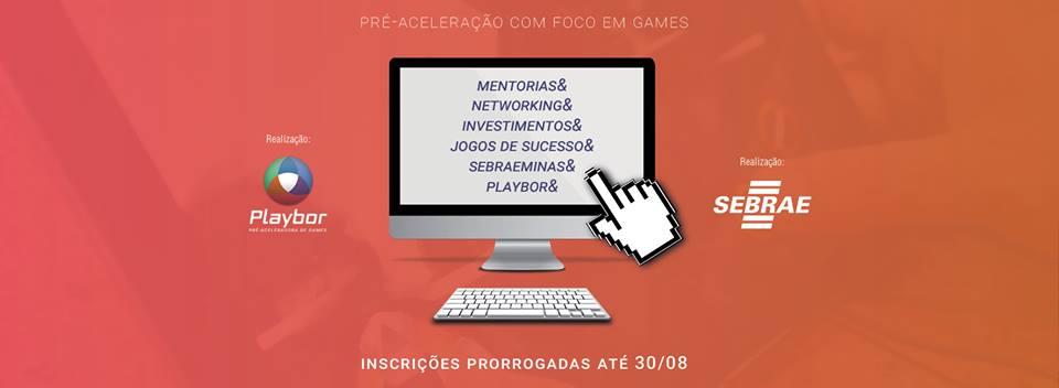 Pré-aceleradora Playbor prorroga prazo de inscrições até 30/08