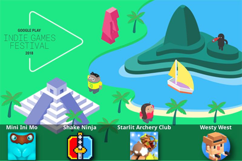 Conheça os finalistas do primeiro festival de jogos indie do Google Play na América Latina
