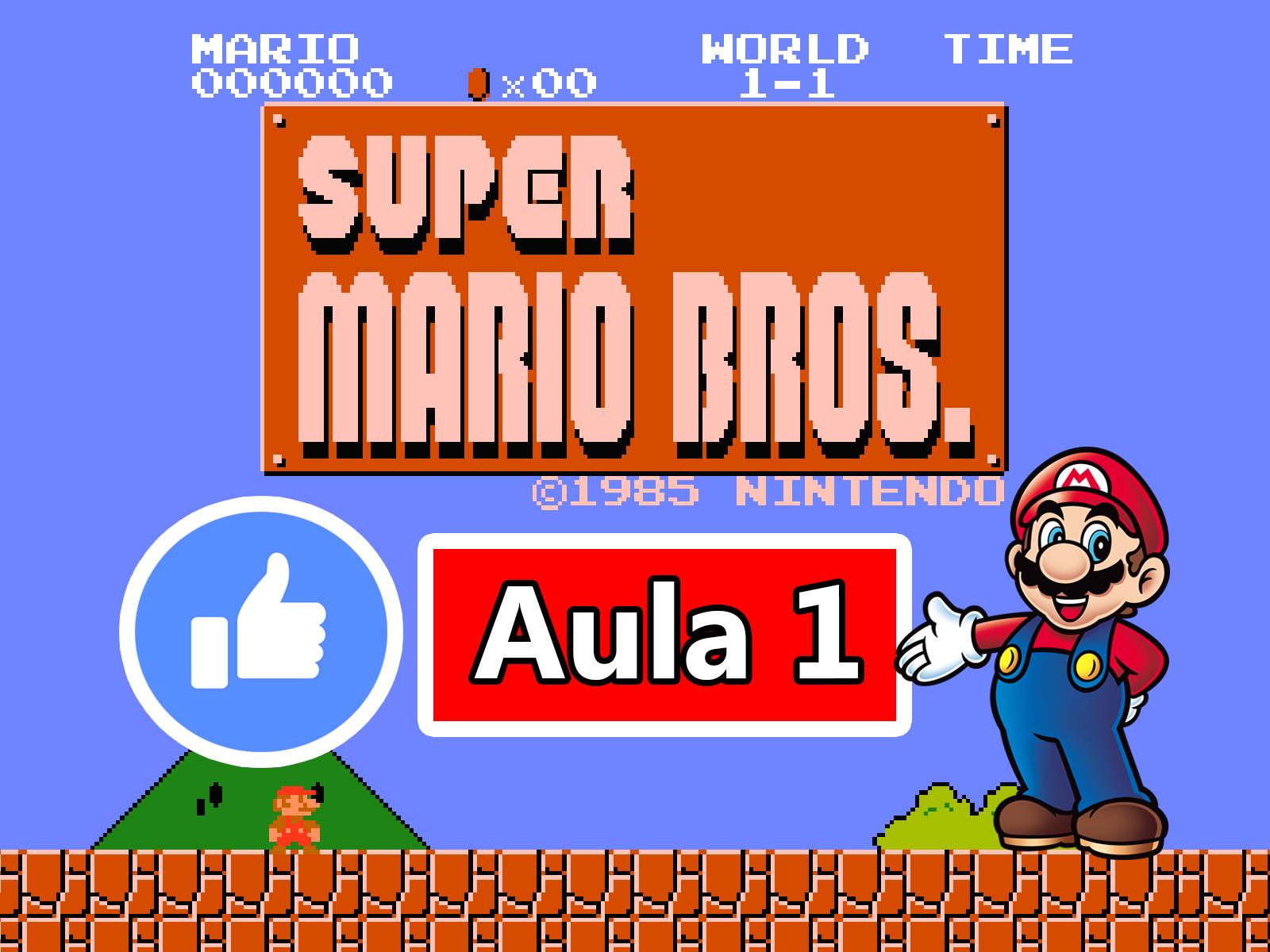 GameMaker – Criando o Jogo do Super Mario Bros #Aula1