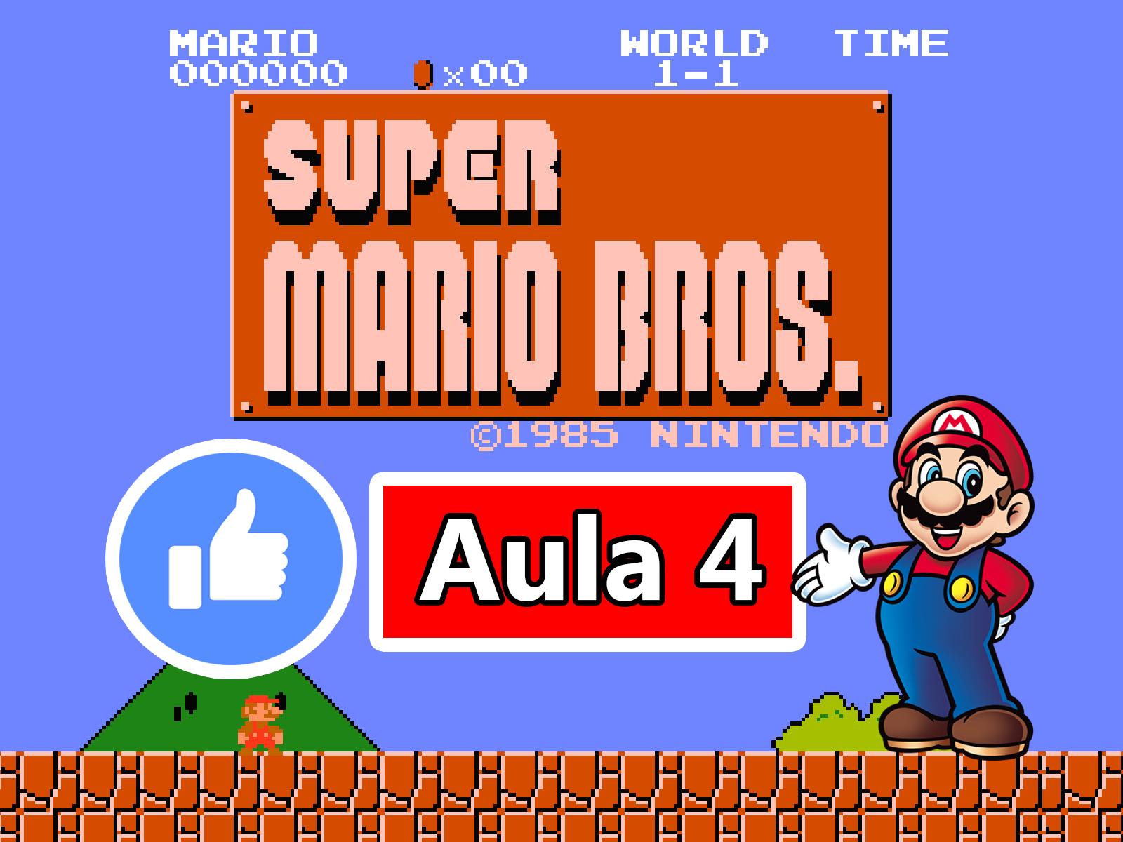 GameMaker – Criando o Jogo do Super Mario Bros #Aula4