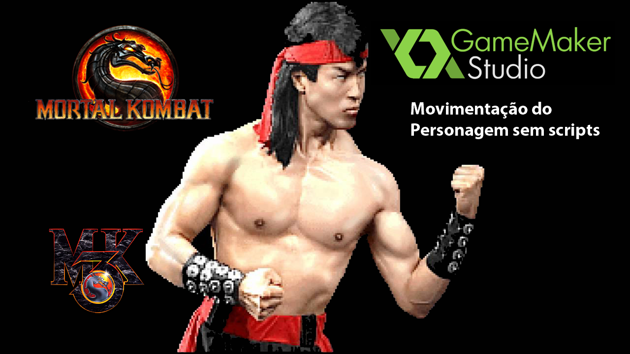 GameMaker – Mortal Kombat: Movimentação do Personagem sem Scripts