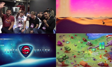 Games contemplados na Ancine - Areia, Addle Earth & Super Volley
